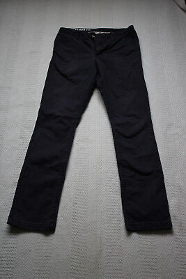 H&M navy skinny fit chinos 14 years