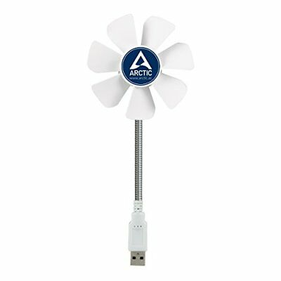 ARCTIC Breeze Mobile - Mini USB Desktop Fan with Flexible Neck I Portable Desk I