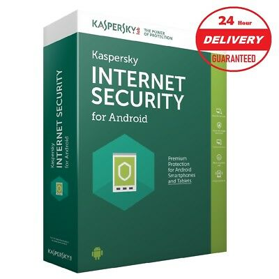 Kaspersky Internet Security for Android 2018-19 / 1 Device / 1 Year License Key