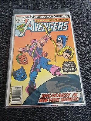 Avengers 172 classic bronze age cover