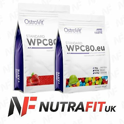 OSTROVIT STANDARD WPC80 WHEY PROTEIN CONCENTRATE muscle mass BCAA