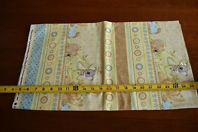By 1/2 Yd, Australian Animals on Tan Cotton, Henry Glass/Down Under, N2740