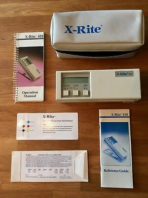 X-Rite Model 418 Color Reflection Densitometer