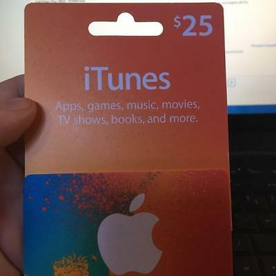 AUTHENTIC CANADIAN iTUNES CARD $25 - iTUNES CANADA APP STORE Play Brawl Stars