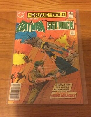 Brave And The Bold 162. Vfn Cond. May 1980. Dc. Batman. Very Fine.