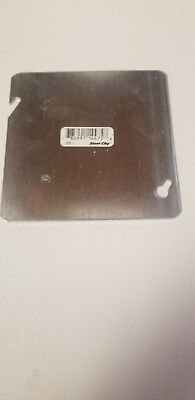 Thomas And Betts 4-11/16In. Flat Blank Square Covers 72-C-1 *new Lot Of 50*