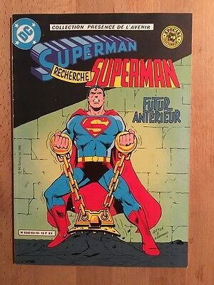 Superman - Futur antérieur - Sagédition - 1983 - TBE