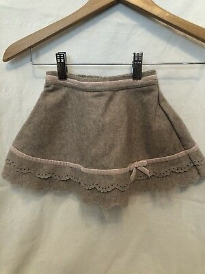 Janie And Jack Skirt Tan & Pink Tulle 18-24 Mos.