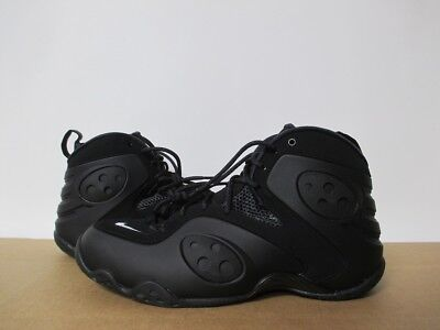 99f7c153058 NIKE AIR ZOOM Rookie Black White Penny Foamposite One Pro Sz 8-14 ...