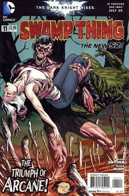 Swamp Thing (5th Series) #11 2012 VF Stock Image