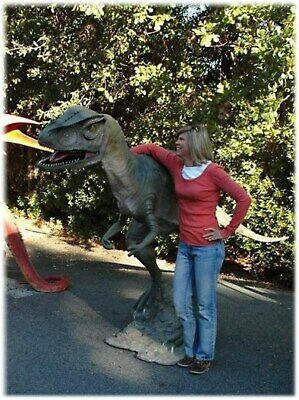 Life Size Allosaurus Dinosaur Statue Jurassic Park Mini Golf Sculpture Not T Rex