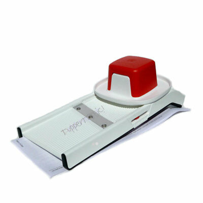 Tupperware MandoChef Junior Mandoline Slicer Mando NEW