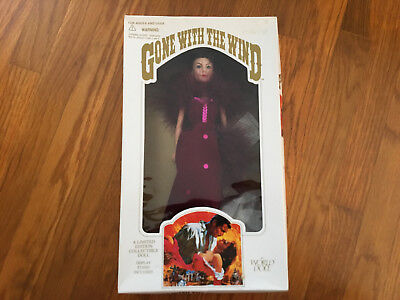 NIB Scarlett Red Dress of Shame World Doll Limited Ed Gone with the Wind 1989