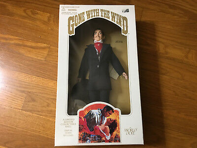 NIB Rhett Butler Black Suit World Doll Limited Ed Gone with the Wind 1989 GWTW