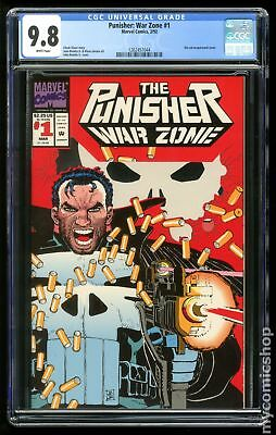Punisher War Zone #1 1992 CGC 9.8 1262457044