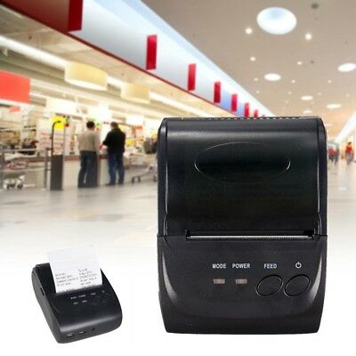 58mm Mini Portable Bluetooth Wireless USB Receipt Thermal Printer for Android