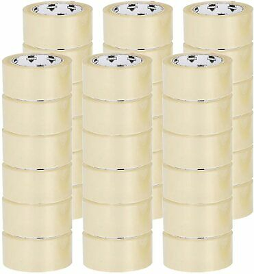 """1.6 Mil Clear Packing Tape 2"""" x 110 Yards Self Adhesive Seal Tapes 1620 Rolls"""