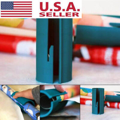 USA Wrapping Paper Cutter Sliding Paper Roll Cutter Cuts Gift Paper Cutter Tools