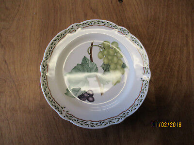 "Noritake Primachina ROYAL ORCHARD 9416 Bread Plate 6 3/4"" 1 each 12 available"