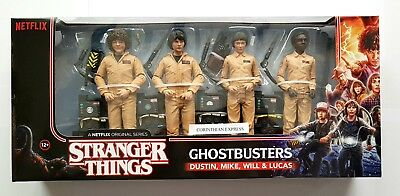 """Mcfarlane Stranger Things Ghostbusters Deluxe 4-Pack (6"""" Action Figures) New"""