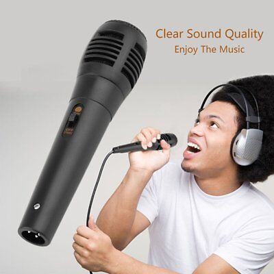 Wired Uni-directional Handheld Dynamic Microphone Voice Recording Microphone MT