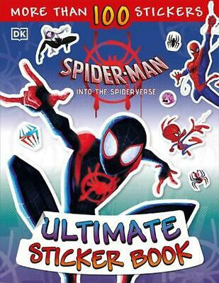 Marvel Spider-Man Into the Spider-Verse Ultimate Sticker Book by Shari Last Pape