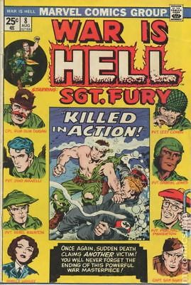 War is Hell (Marvel) #8 1974 FN/VF 7.0 Stock Image