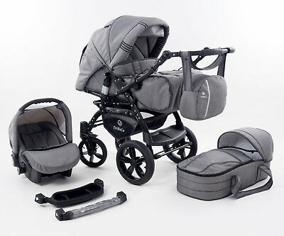 "TriBeCe ""Cloud"" Landau Poussette 3in1"