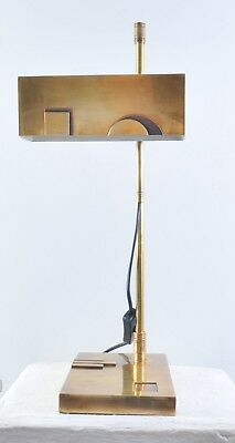Bauhaus Style Table Lamp Marcel Breuer Design Late 20th Century