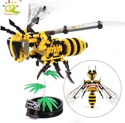 236+pcs Wasp Insect Model Building Blocks set Easy to Build Toys Bricks for Kids
