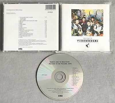 FRANKIE GOES TO HOLLYWOOD - WELCOME TO THE PLEASUREDOME * * 2000's CD Album
