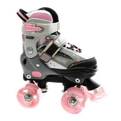 SFR Typhoon Pink Adjustable Quad Roller Skates. Girls Rollerskates Girls Skates.