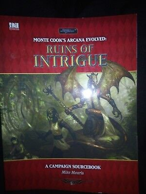 Arcana Evolved Ruins of Intrigue (SWORD AND SORCERY) D20 by Mearls, Mike