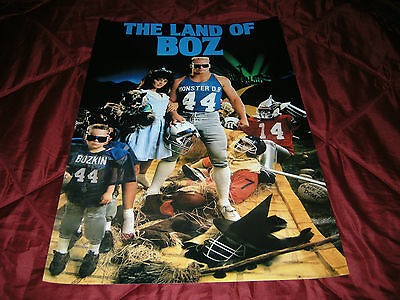 """Brian Bosworth Seattle Seahawks """"the Land Of Boz"""" 20X30 Poster Print"""
