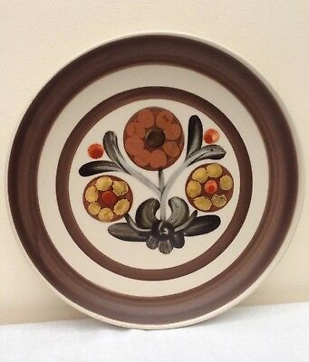 "Retro Denby Langley Mayflower Pattern 8"" Salad / Supper Plate"