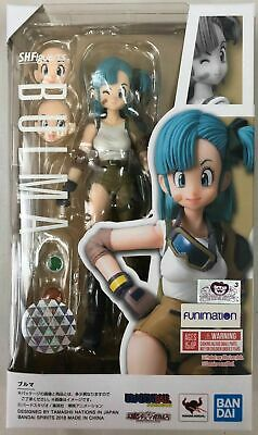 S.H.Figuarts Bulma Dragon Ball Action Figure Bandai NEW Authentic In Stock USA