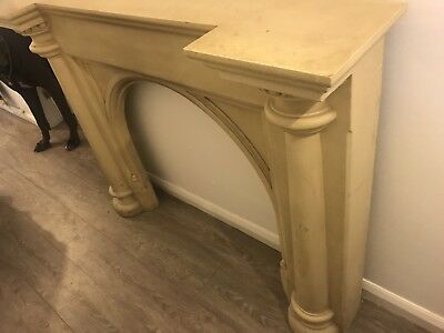 Antique Reclaimed Fireplace Fire Surround