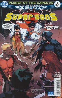 Super Sons (DC) #6A 2017 Jimenez Variant VF Stock Image