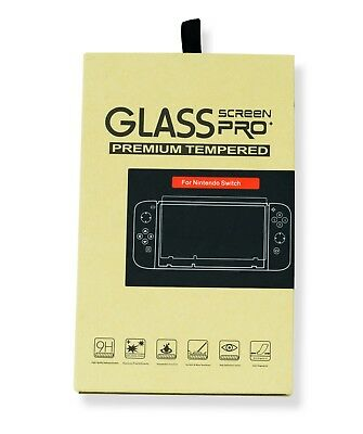 IQCase© TWIN PACK Tempered Glass Screen Film Guard Protector For Nintendo Switch