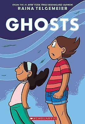 Ghosts by Telgemeier, Raina, NEW Book, (Paperback) FREE & Fast Delivery