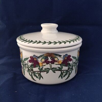 PORTMEIRION Botanic Garden Storage Crock Canister with Lid