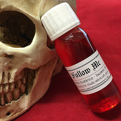 ☆☆☆ FOLLOW ME ☆☆☆  ESOTERIC OIL ESPECIALLY FOR RITUALS SPELLS 60ml.