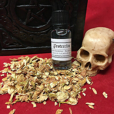 PROTECCION Oil Esoteric Aceite Esoterico Ritual Spell Magic Witchcraft 10ml.