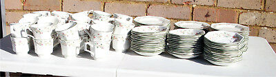 12 Eternal Beau cups, saucers and plates