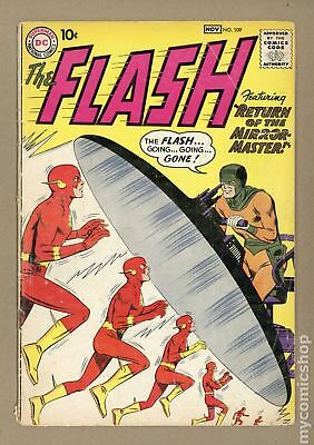 Flash (1st Series DC) #109 1959 GD 2.0