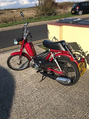 2x Iconic design chopper style Puch Free Spirit moped (Sears in USA)