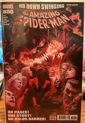 Amazing Spider-Man #800 Alex Ross Cover 1St Print Nm Red Goblin