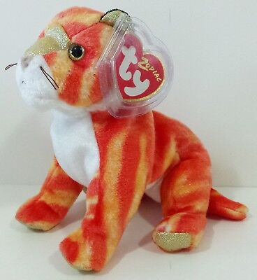 """TY Beanie Babies """"TIGER"""" CHINESE ZODIAC - MWMTs! RETIRED! GREAT GIFT! MUST HAVE!"""