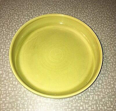 Rare Russel Wright American Modern Chartreuse Child's Plate