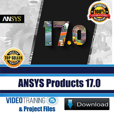 ANSYS Products 17.0 Video Training And PDF Tutorials With Working Files DOWNLOAD